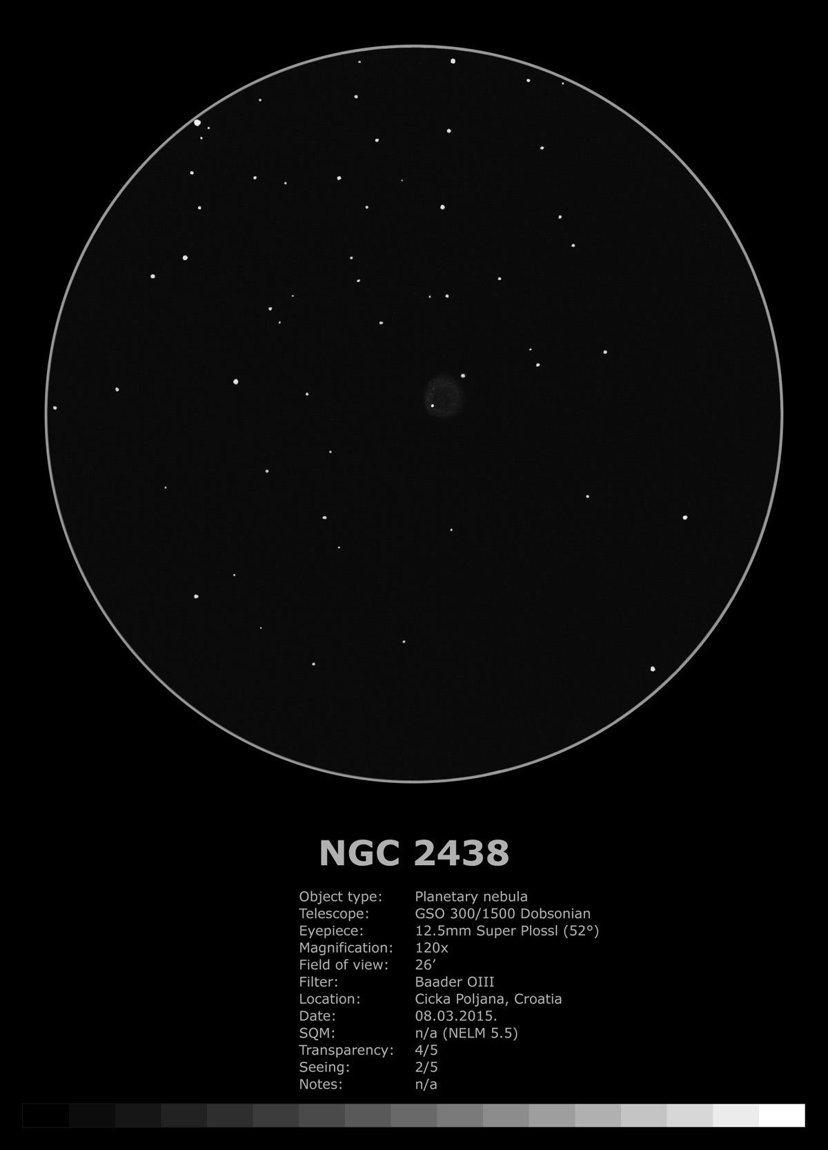 NGC 2438 (2015)