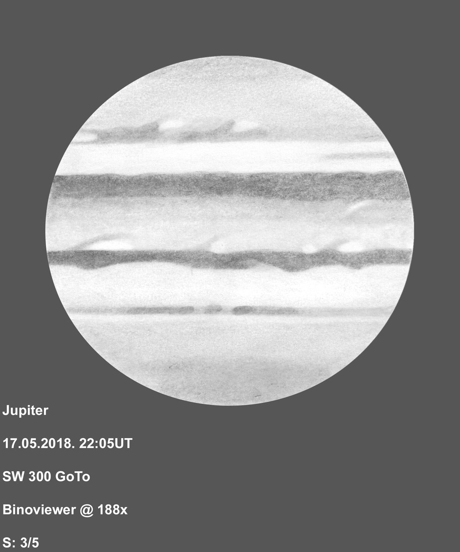 Jupiter 2018-05-17