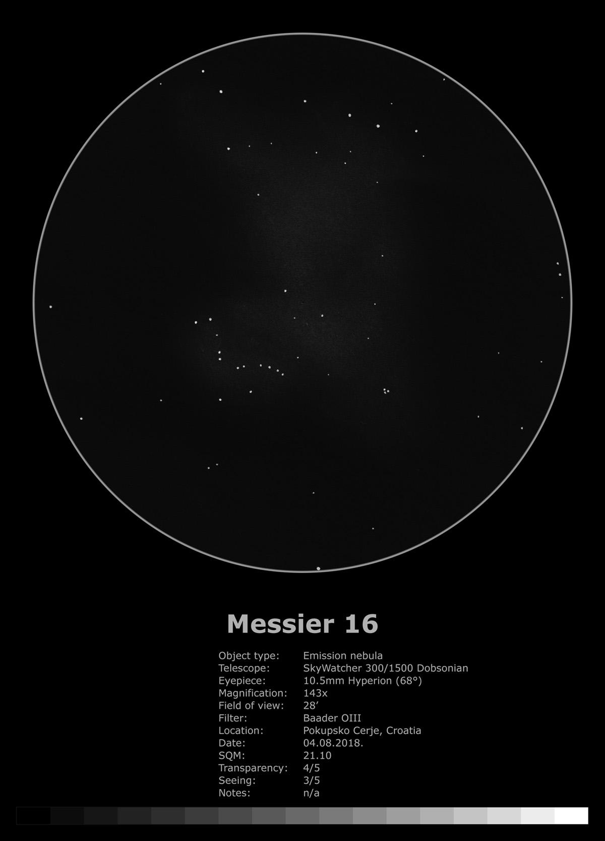 Messier 16 (2018)
