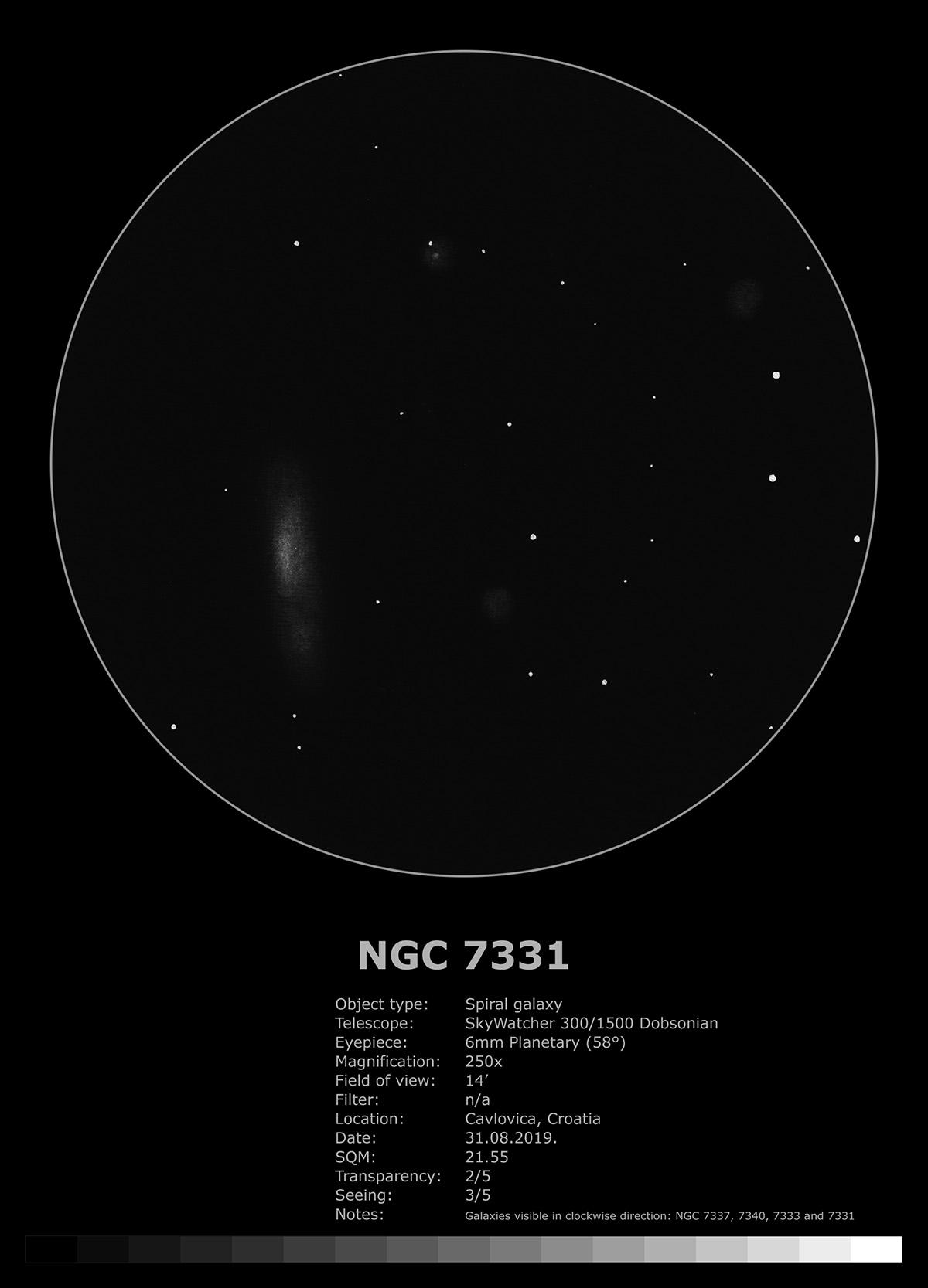NGC 7331 (2019)