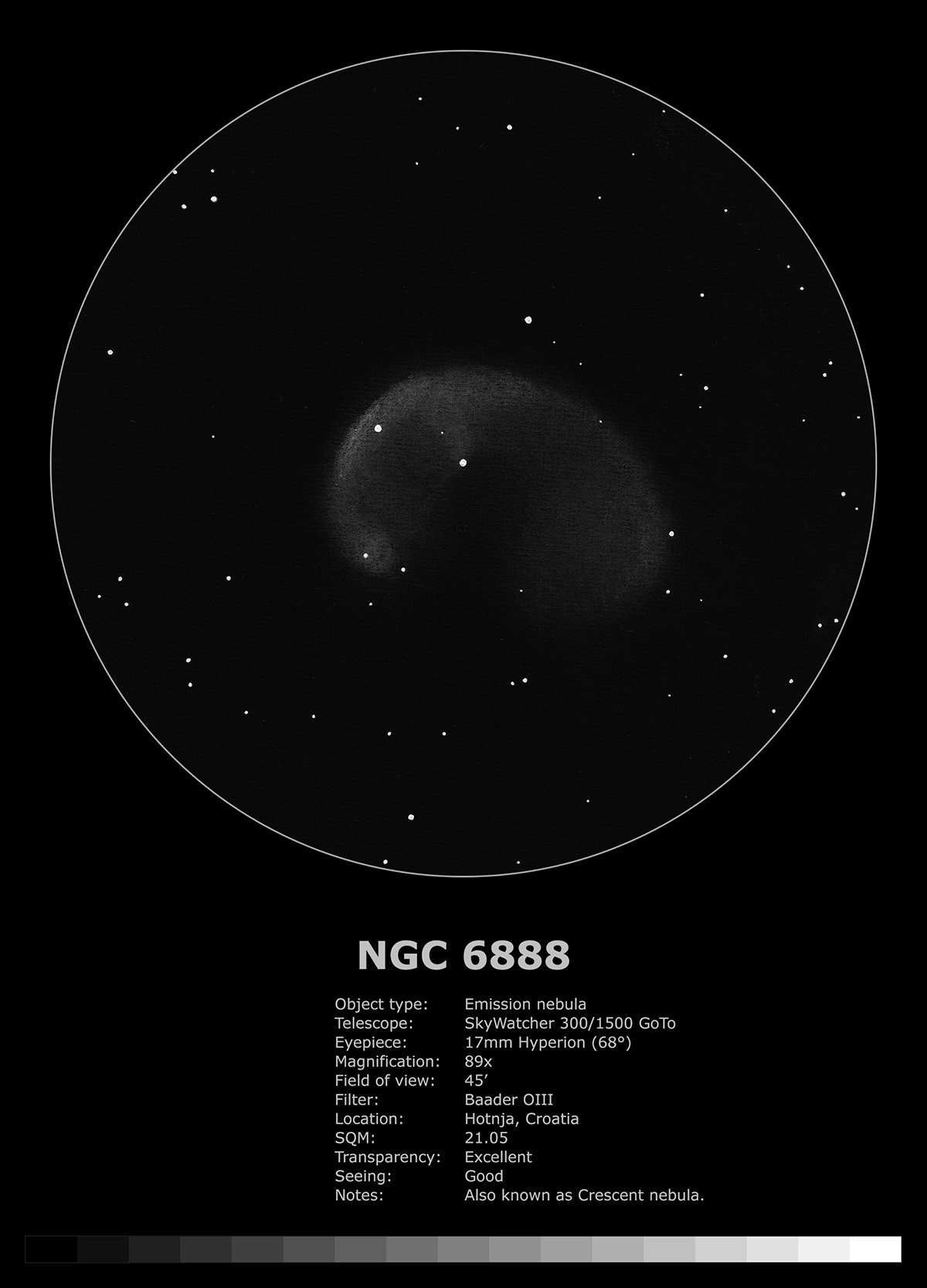 NGC 6888 (2019)