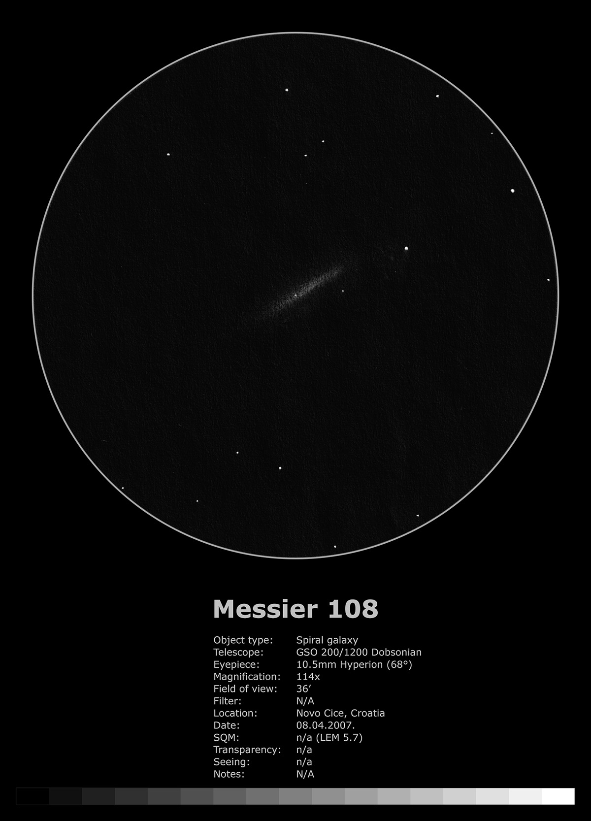 Messier 108 (2007.)