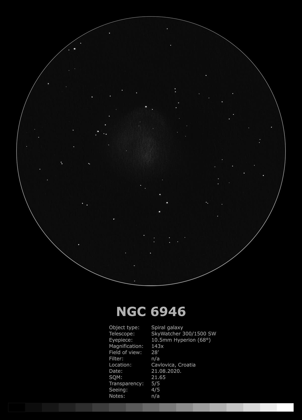 NGC 6946 (2020)