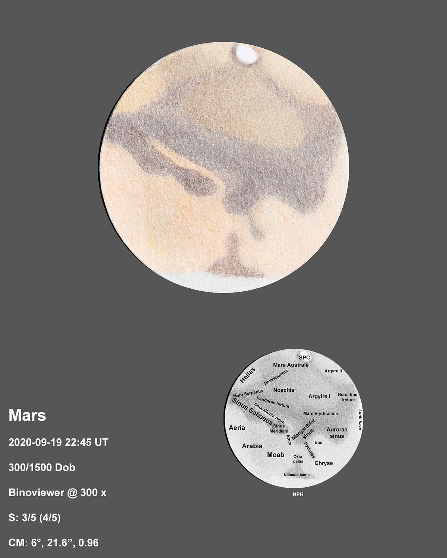 Mars 2020-09-19 22:45UT