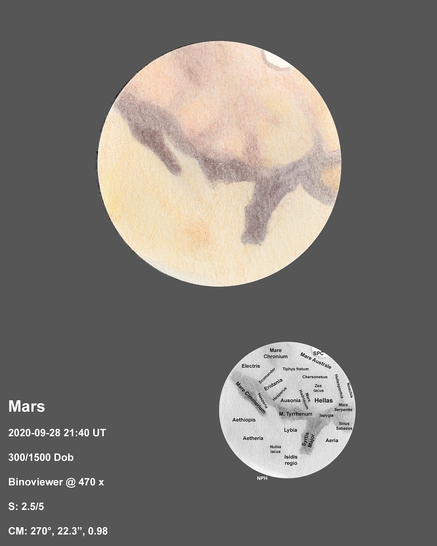 Mars 2020-09-28 21:40UT