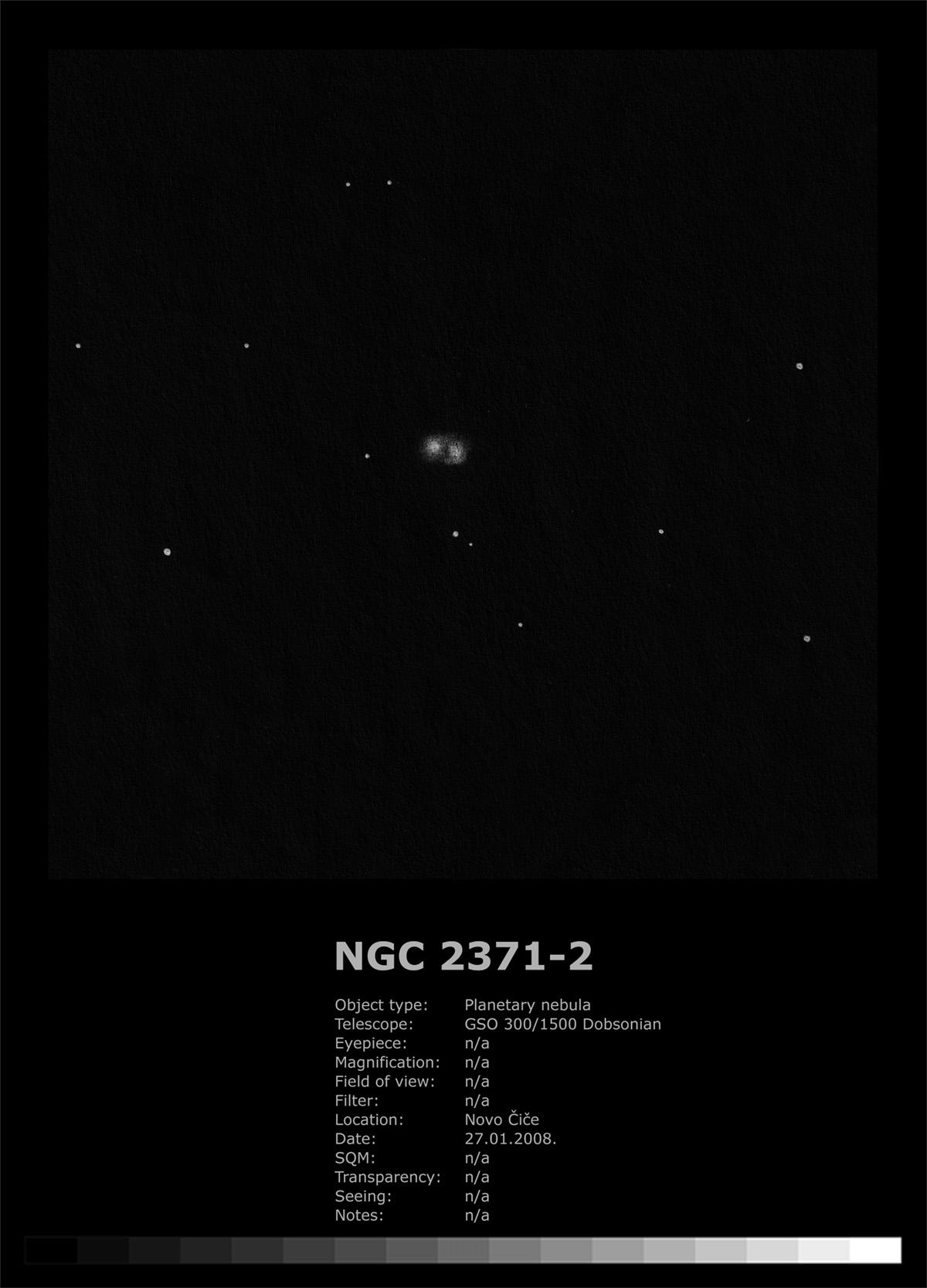 NGC 2371/2372 (2008)