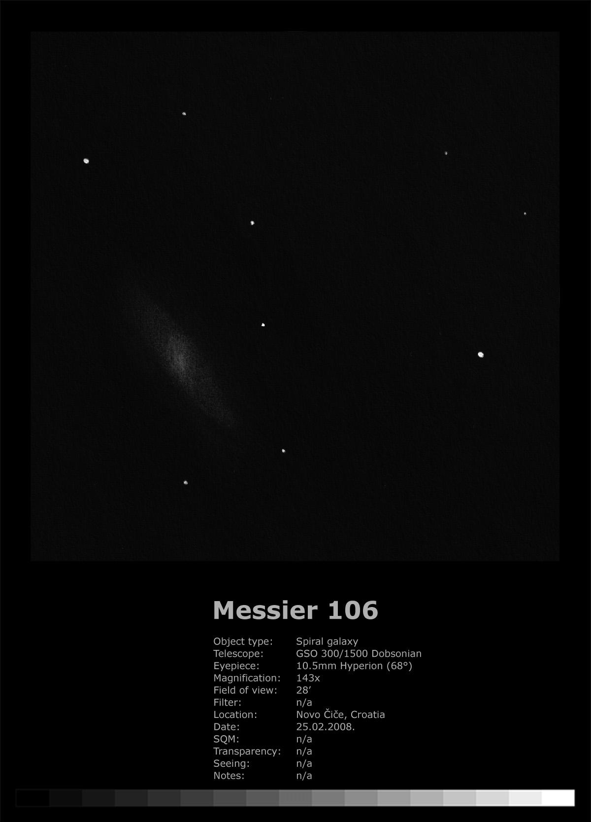 Messier 106 (2008)
