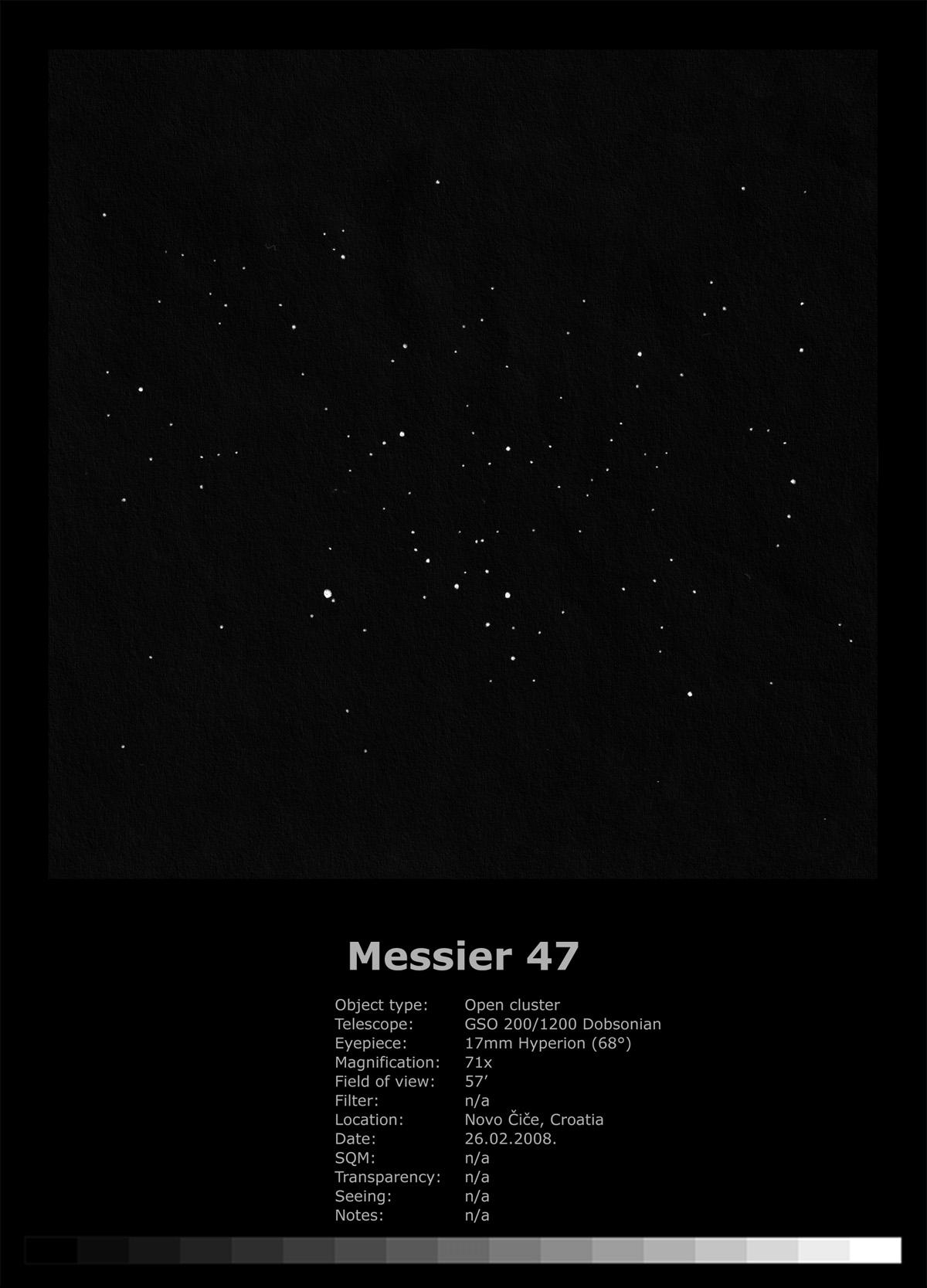 Messier 47 (2008)