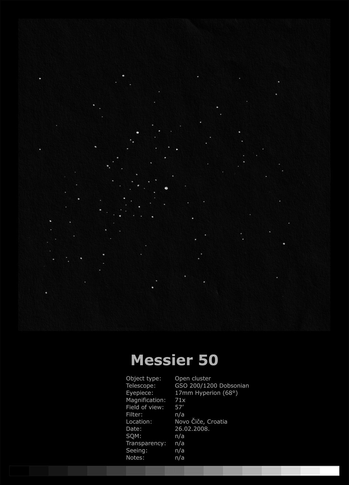 Messier 50 (2008)