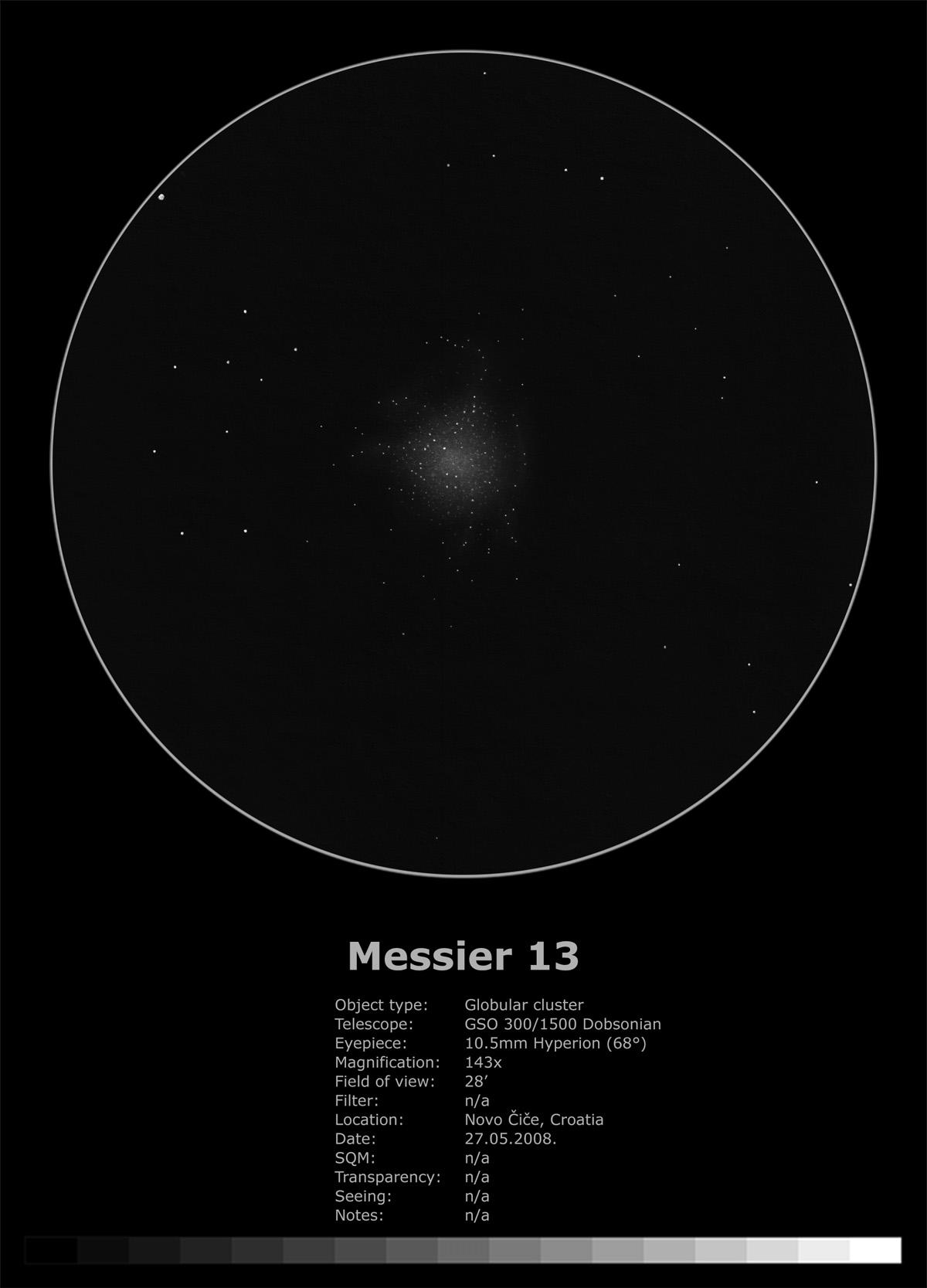 Messier 13 (2008)