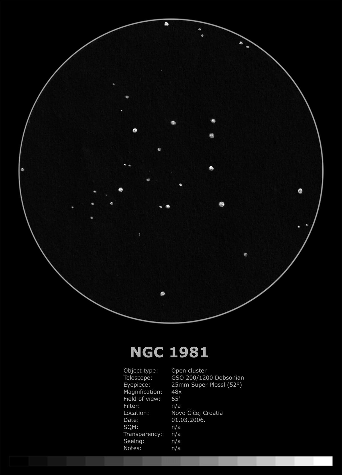 NGC 1981 (2006.)