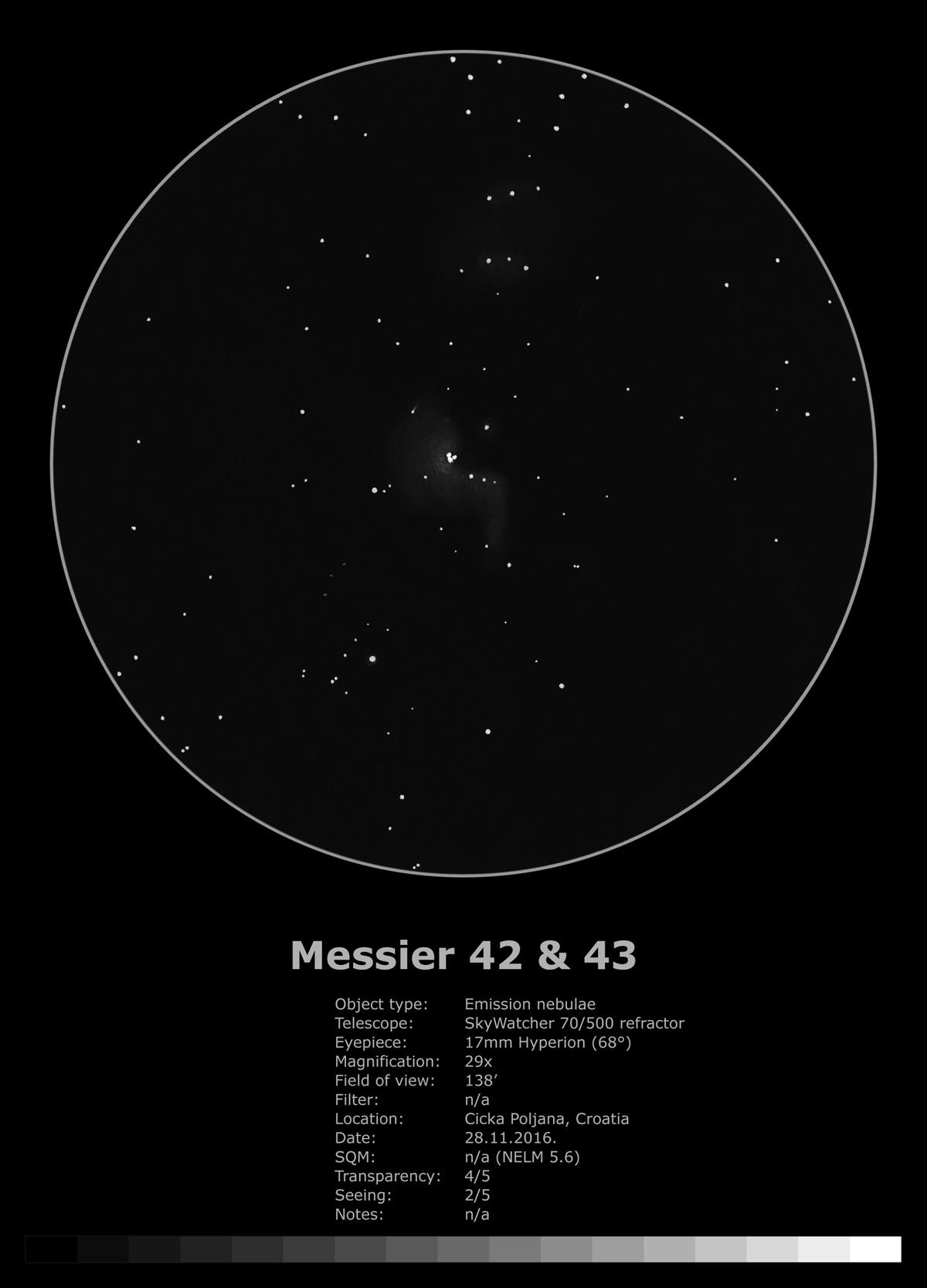 Orionova maglica (2016)