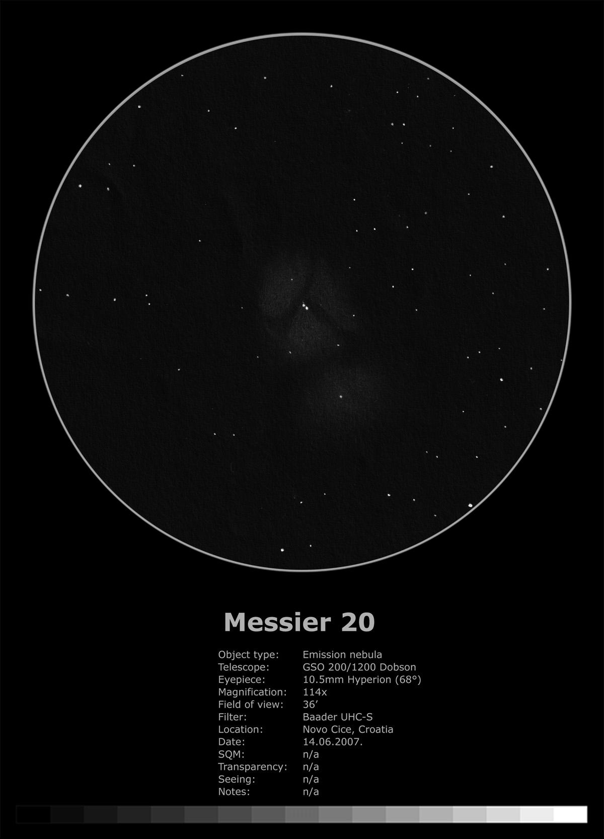Messier 20 (2007)