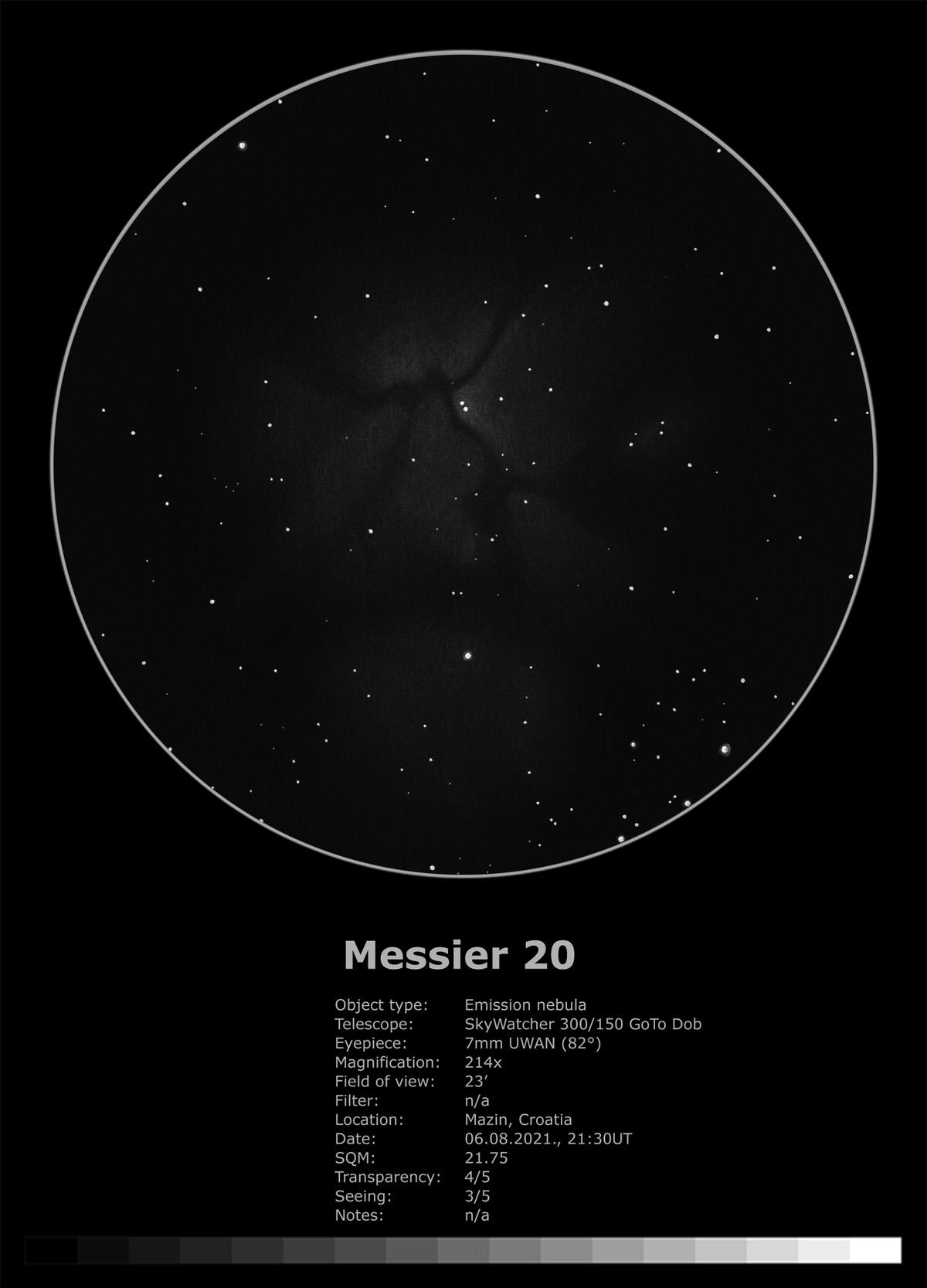 Messier 20 (2021)