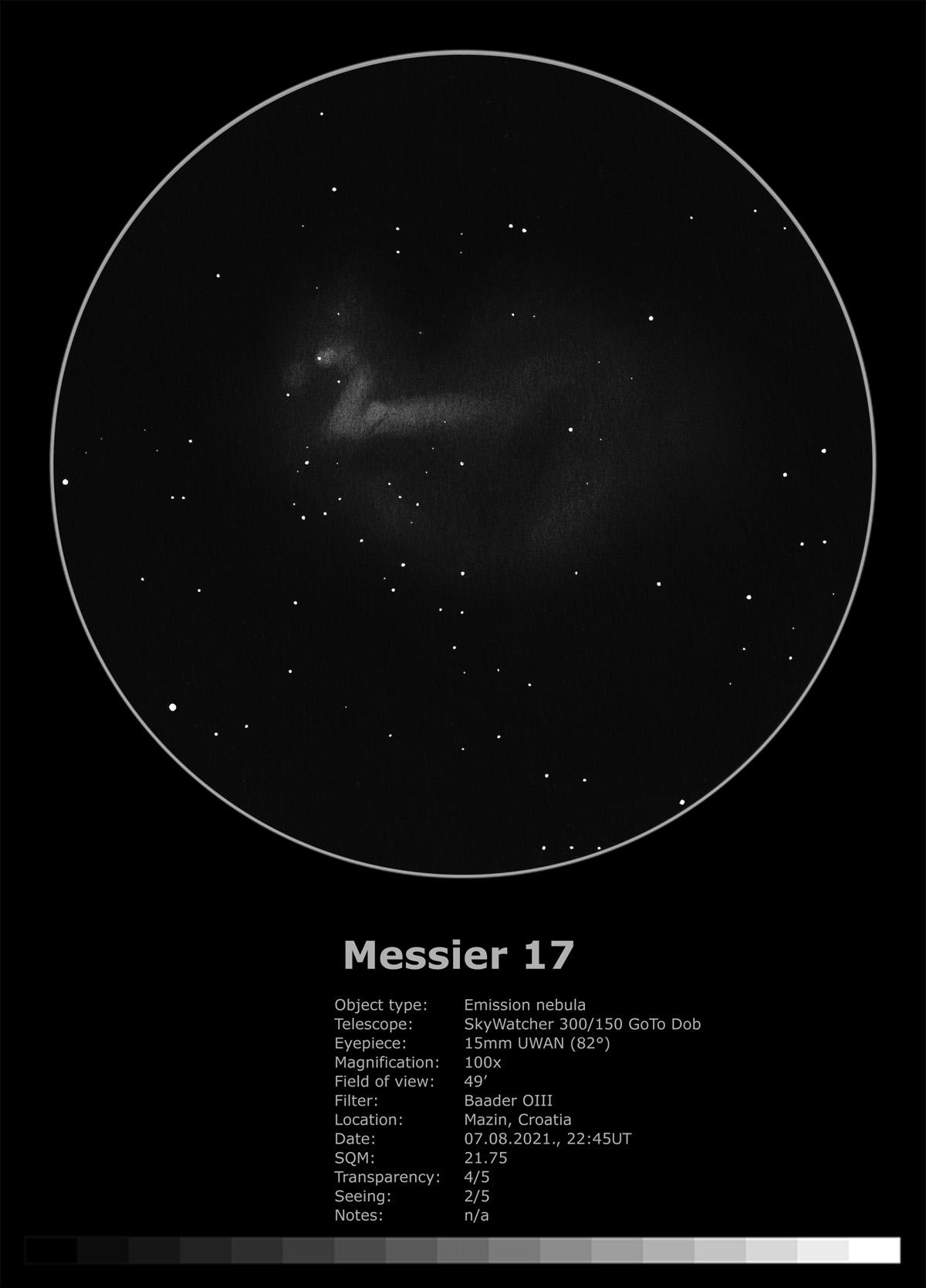 Messier 17 (2021)