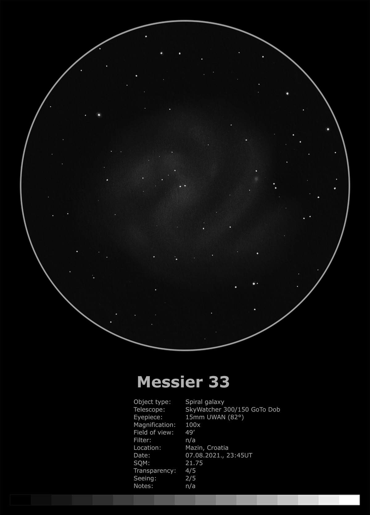 Messier 33 (2021)