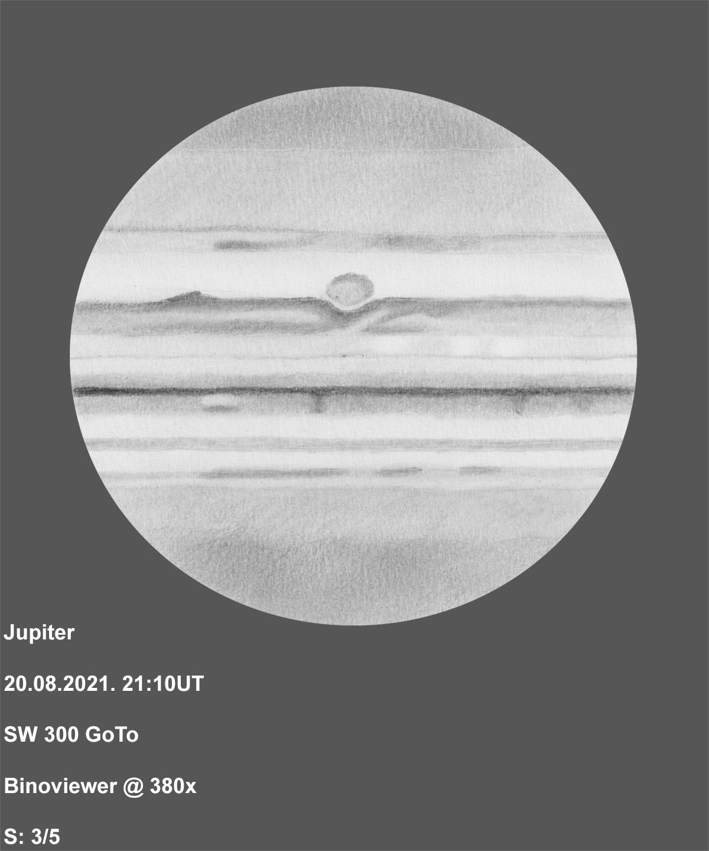 Jupiter 2021-08-20